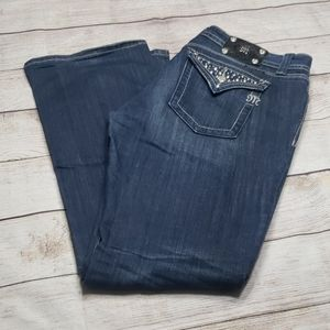 Miss Me Size 34 Dark Wash Bootcut